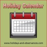 Holiday Calendars